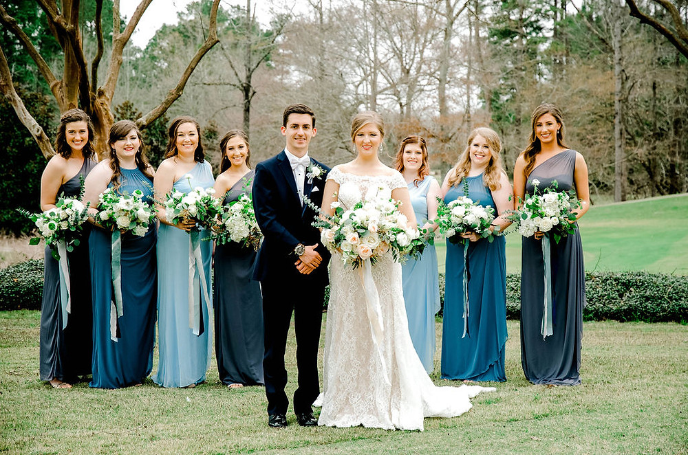 Wedding party Auburn Al venue