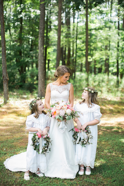 ga wedding flower girl bride coordinator