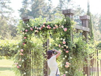 Lush vineyard editorial -The Farm at High Shoals with Styled Shoots Across America