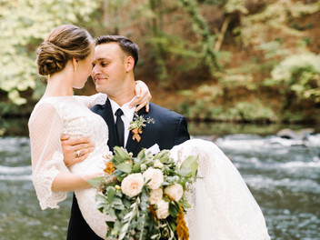 Swan Lake Stable wedding with Hannah Miller Photography
