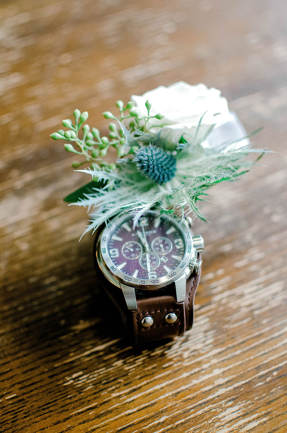 Auburn, Alabama wedding details, grooms bout