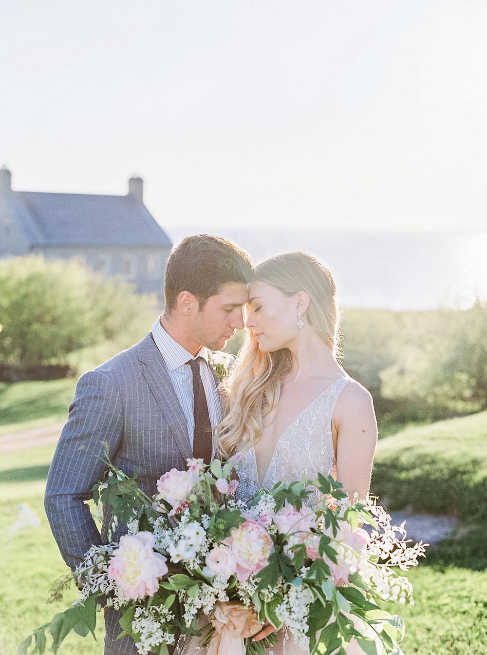 bride and groom destination wedding
