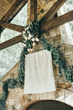 wedding decor moores mill club