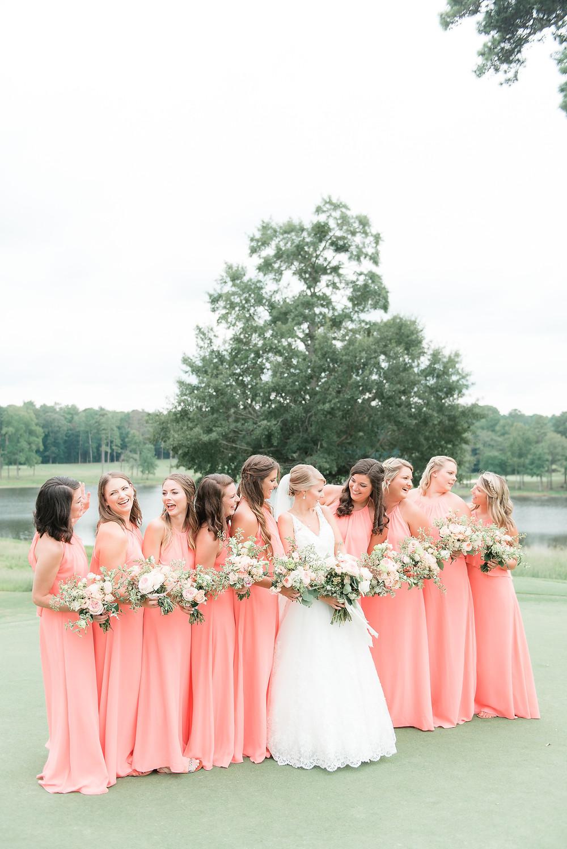 auburn flowers wedding planner bride