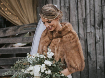 Leah and Ben gold and green  wedding bells ring at White Oaks- H + M photography