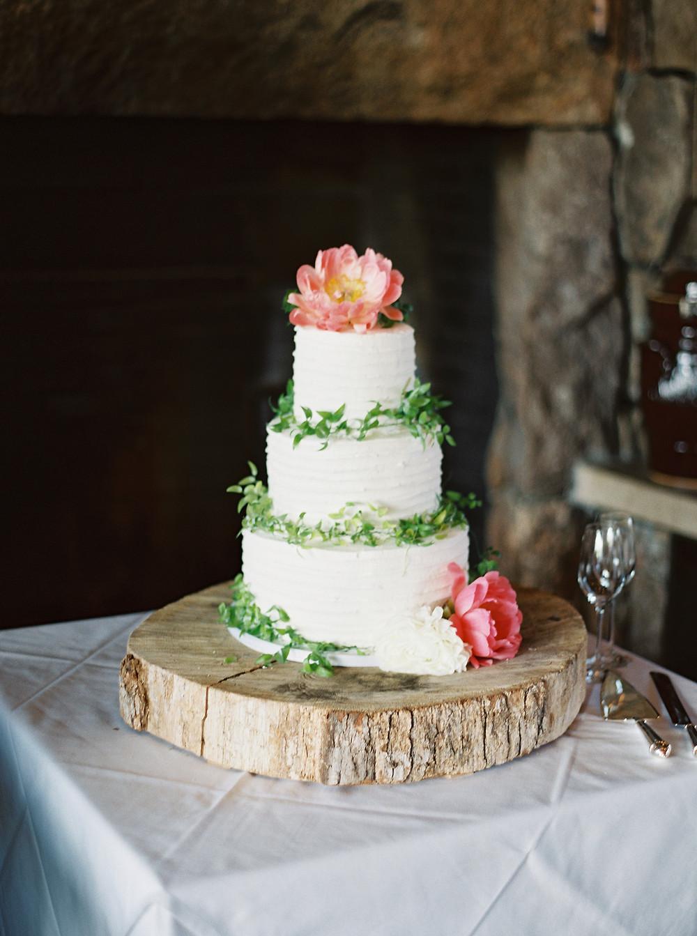 flowers al planner cake