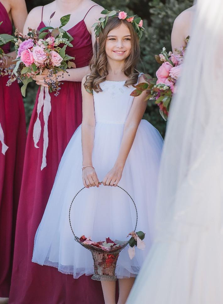 al wedding planner flower girl