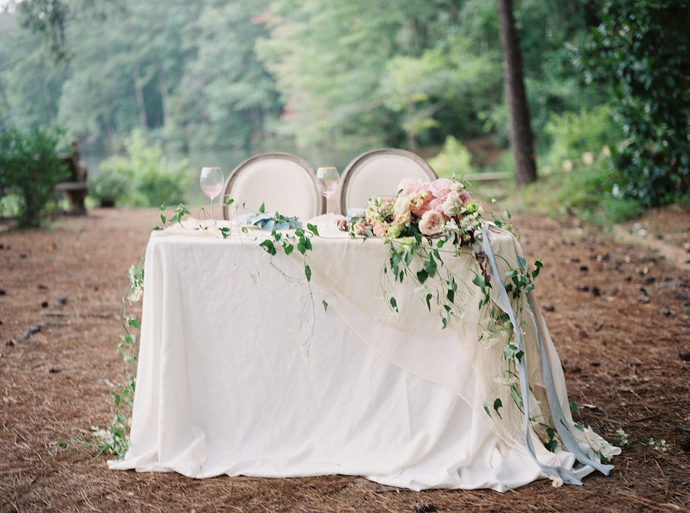 birmingham al wedding table flowers