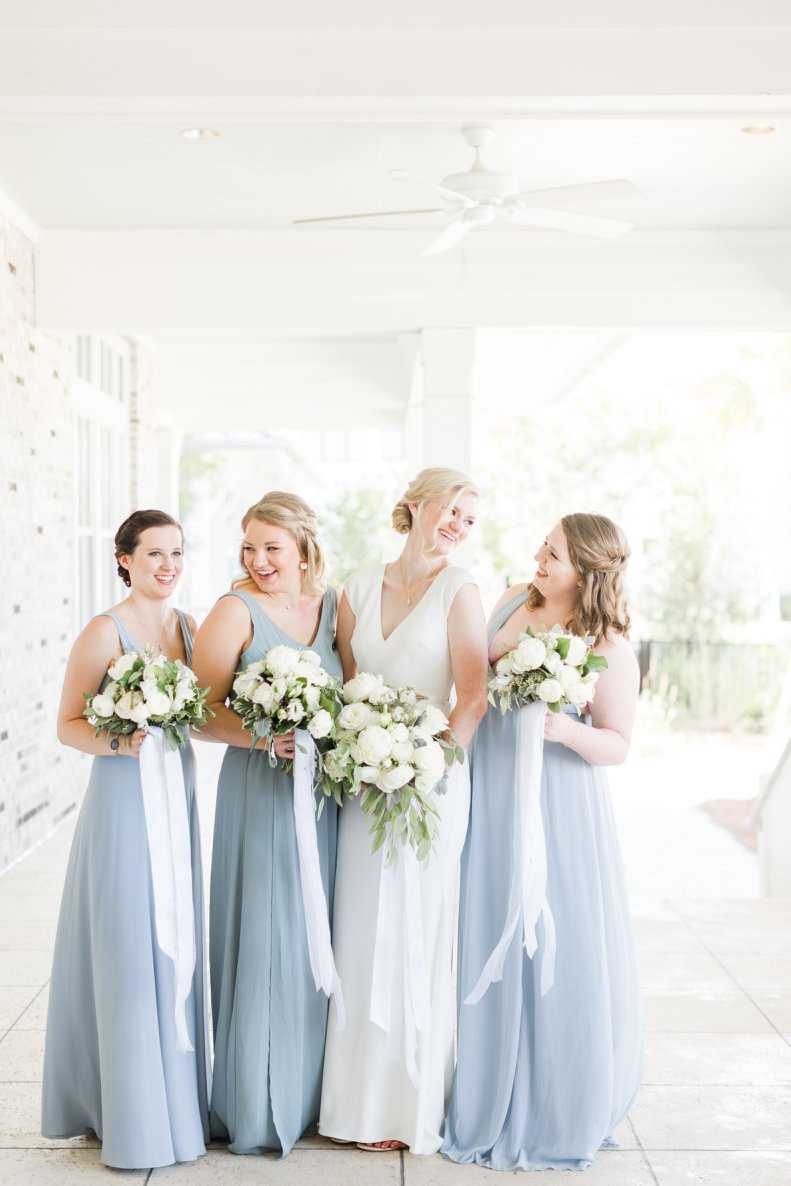 charleston sc bridal party