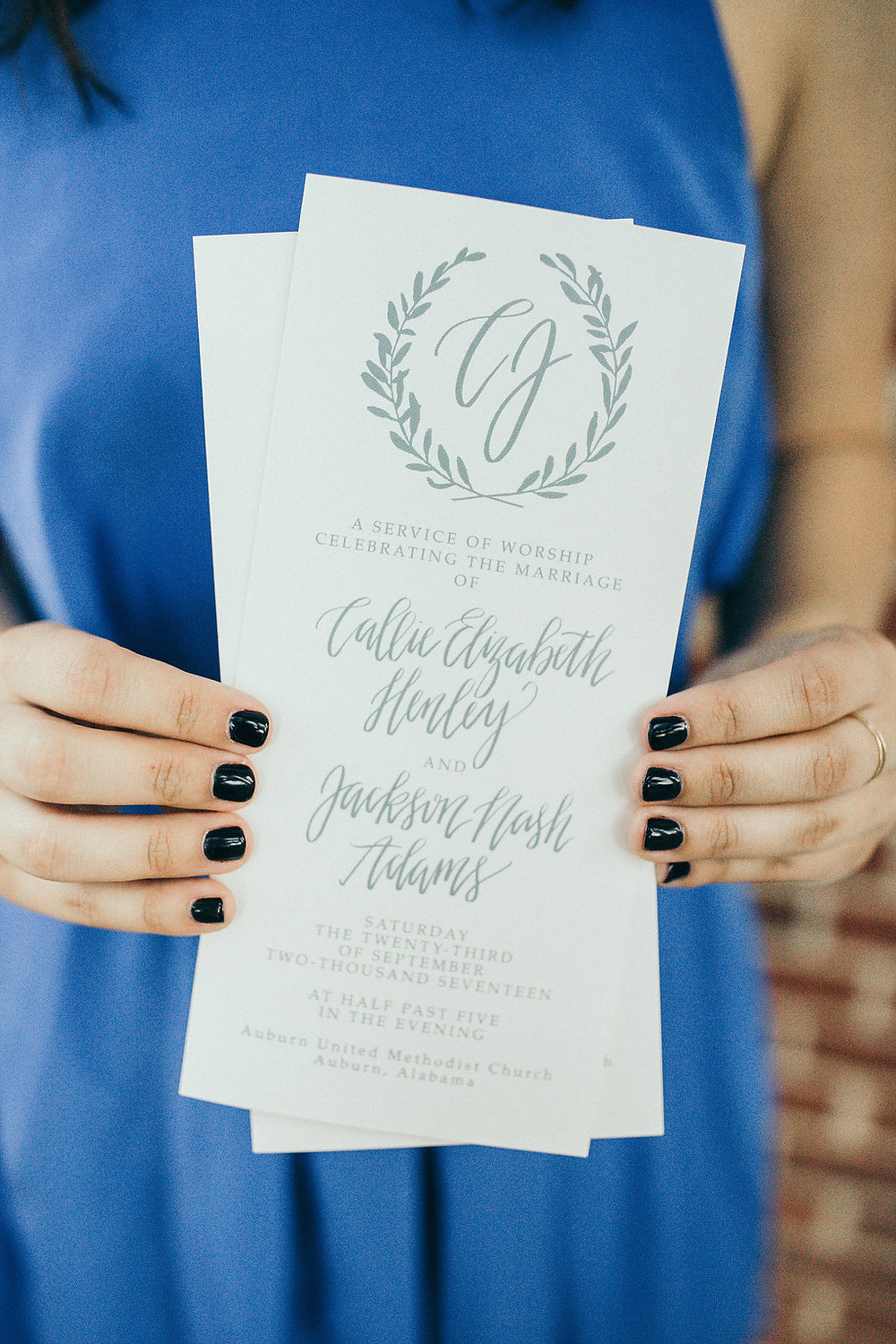 wedding planning invitation design