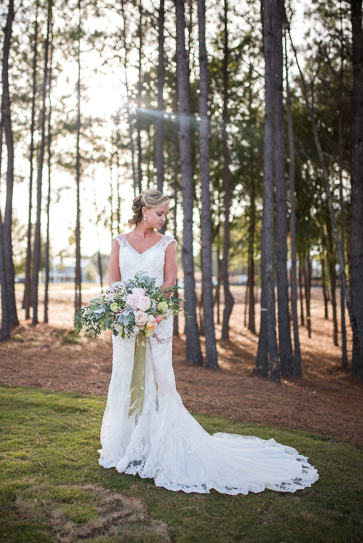 wedding planner flowers bride