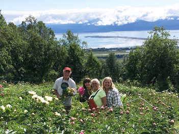 Alabama to Alaska -our 2017 flower adventures at Scenic Place Peonies