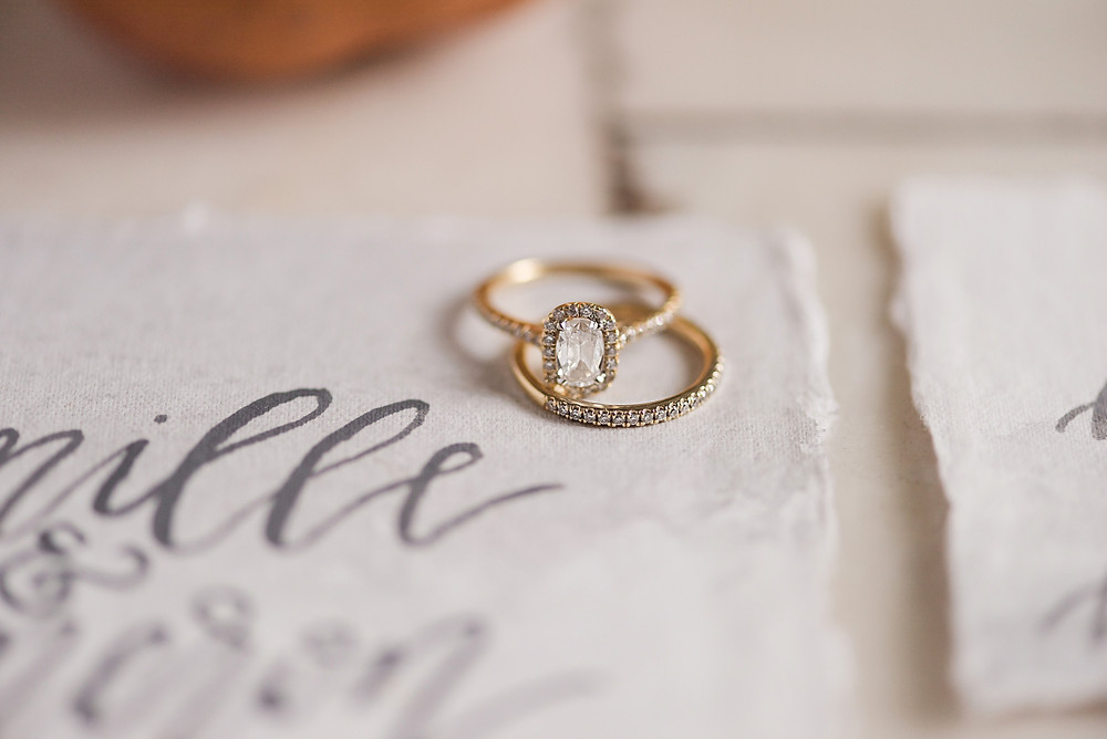 birmingham wedding invitation ring