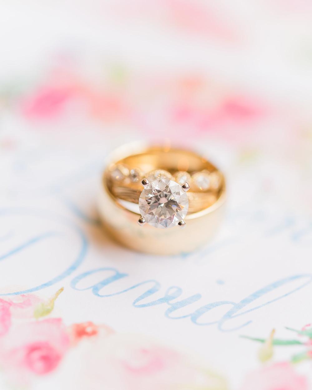 montgomery al  wedding ring invitation