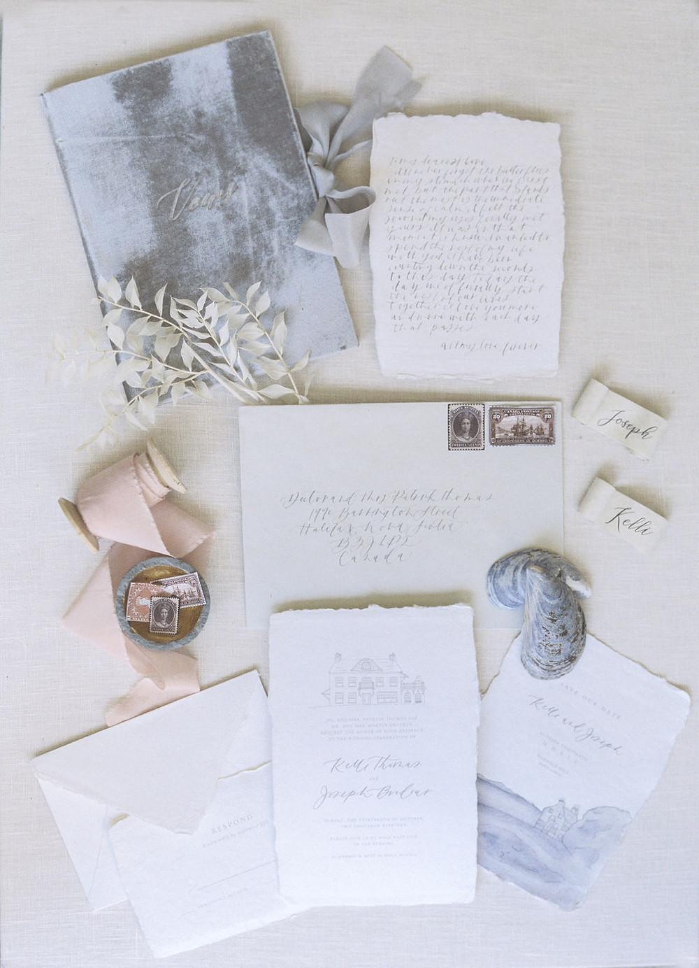 wedding invitation details styling