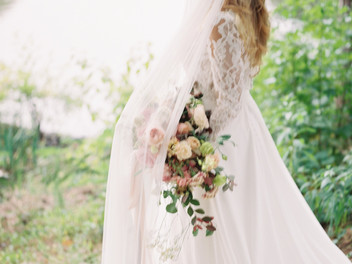 Lady by the Lake wedding inspiration at Birminghams Aldridge gardens-Pipervine photography