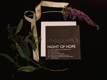 A night of hope with Chancey Charm-