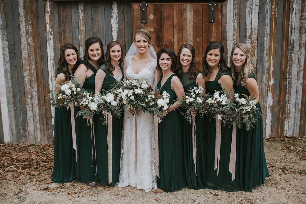 auburn bridemaids flowers wedding planner