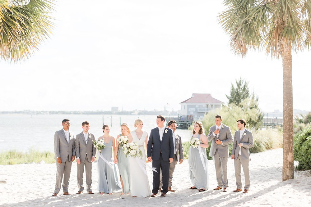 charleston wedding venue planner and florist