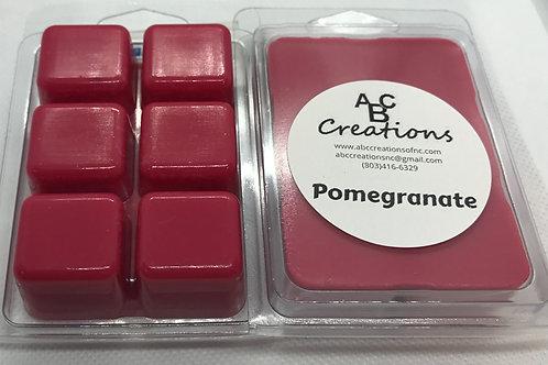 Pomegranate Soy Wax Melt