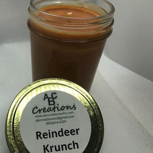 Reindeer Krunch 8 oz. Soy Candle