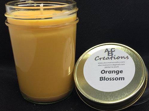 Orange Blossom 8 oz Soy Candle