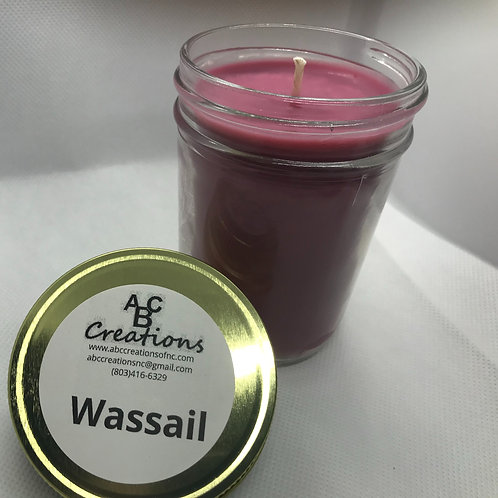 Wassail 8 oz. Soy Candle