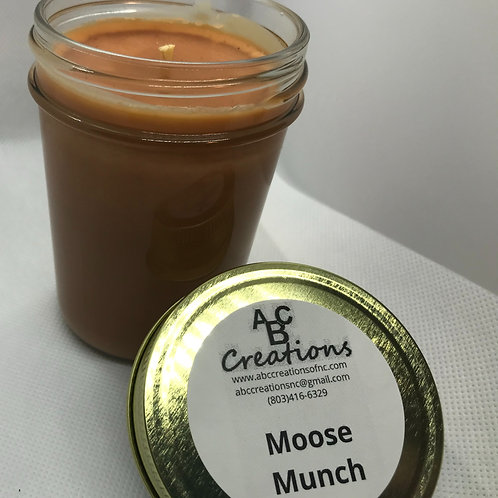 Moose Munch 8 oz. Soy Candle