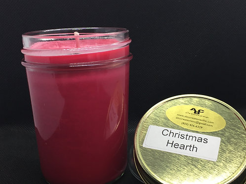 Christmas Hearth 8 oz. Soy Candle
