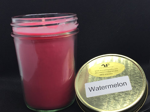 Watermelon 8 oz Soy Candle