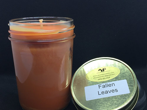 Fallen Leaves 8 oz. Soy Candle