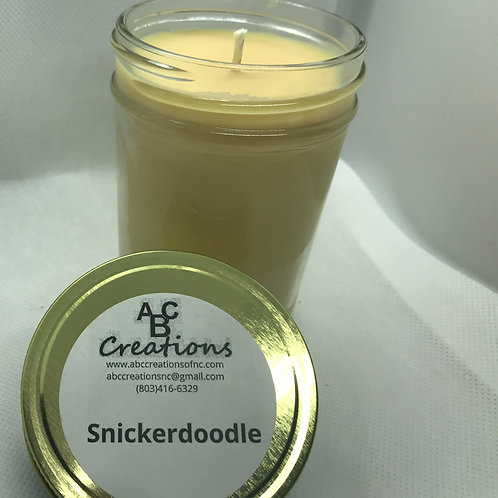 Snickerdoodle 8 oz. Soy Candle