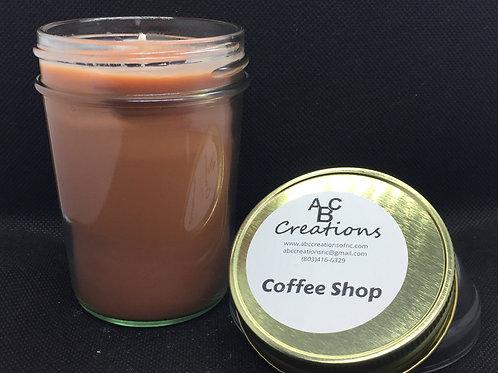 Coffee Shop 8 oz. Soy Candle