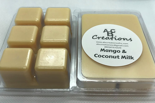 Mango & Coconut Milk Wax Melt