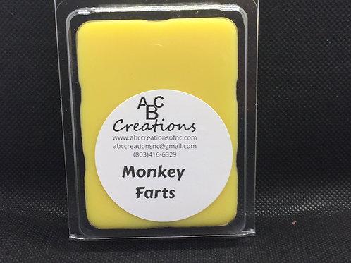 Monkey Farts Soy Wax Melt