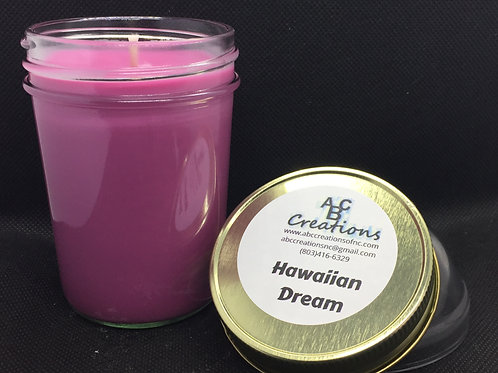 Hawaiian Dream 8 oz. Soy Candle