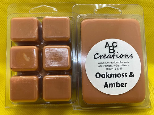 Oakmoss & Amber Wax Melt