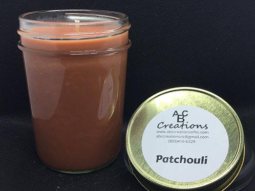Patchouli 8 oz. Soy Candle