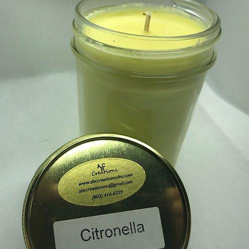 Citronella 8 oz. Soy Candle