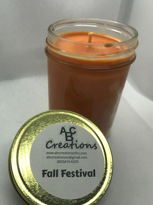 Fall Festival 8 oz. Soy Candle