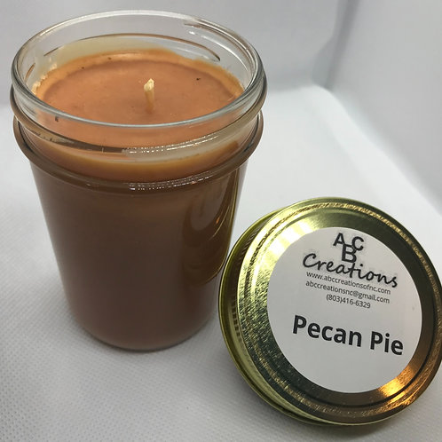 Pecan Pie 8 oz. Soy Candle