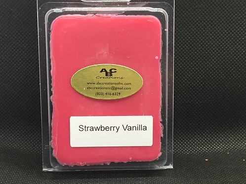 Strawberry Vanilla Soy Wax Melt