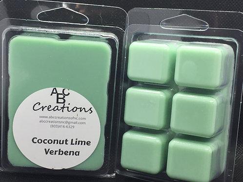 Coconut Lime Verbena Soy Wax Melt