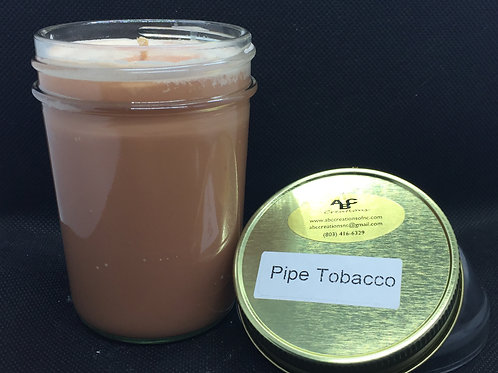 Pipe Tobacco 8 oz. Soy Candle