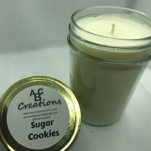 Sugar Cookie 8 oz. Soy Candle