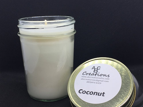 Coconut 8 oz. Soy Candle