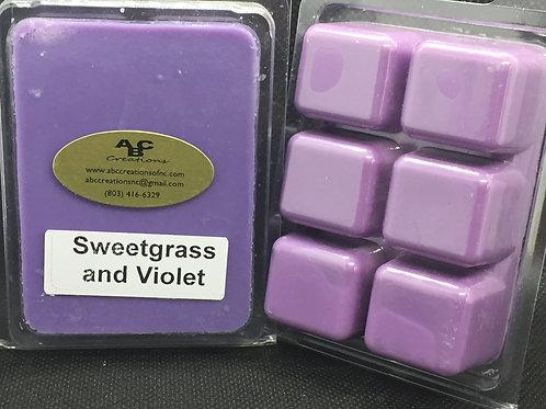 Sweetgrass & Violet Soy Wax Melt