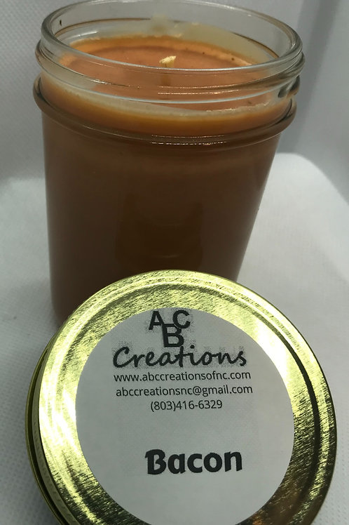 Bacon 8 oz. Soy Candle