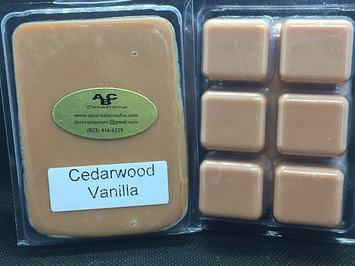 Cedarwood Vanilla Soy Wax Melt