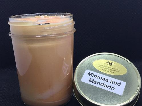 Mimosa & Mandarin 8 oz. Soy Candle